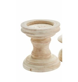 Mud Pie Candle Holder Chunky Tall
