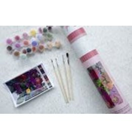 Pink Picasso Kits Paint by Numbers Kit Brilliant Bouquet