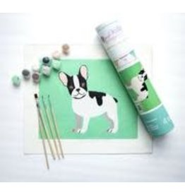 Pink Picasso Kids Frenchie French
