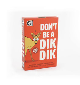 Don't Be a Dik Dik Card Game