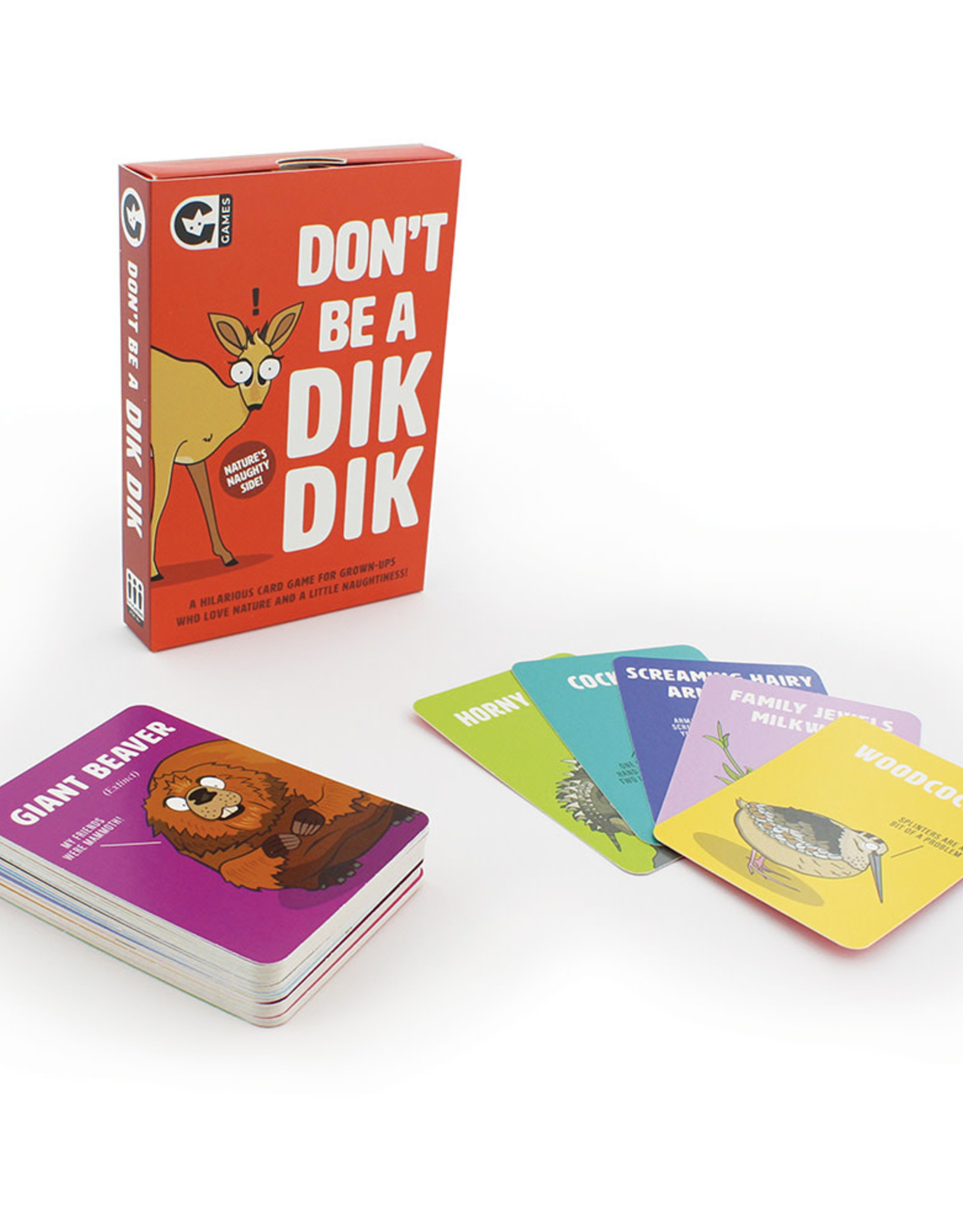 Ginger Fox Don't Be a Dik Dik Card Game