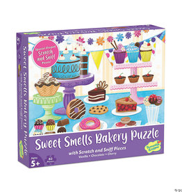 Mindware (Peaceable Kingdon) Puzzle Sweet Smells Bakery Scratch Sniff
