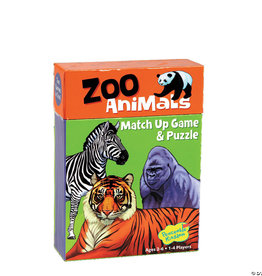 Mindware (Peaceable Kingdon) Match Up Game Zoo Animals