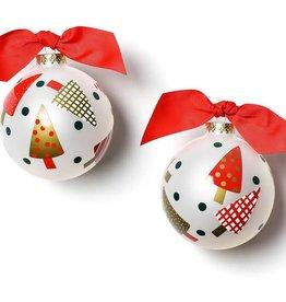 Coton Colors Ornament Triangle Trees