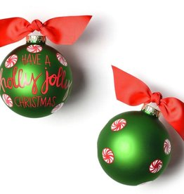 Coton Colors Ornament Holly Jolly Peppermint