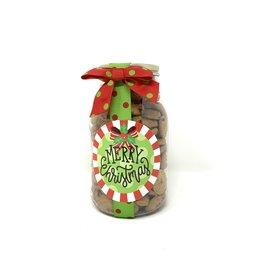 Oh Sugar Oh Sugar 10oz Cookie Jar Merry Christmas