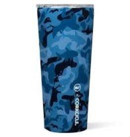 Corkcicle Tumbler- 24oz Vineyard Vines Blue Camo