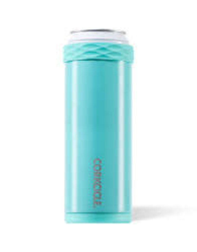 Corkcicle Corkcicle Slim Arctican Gloss Turquoise