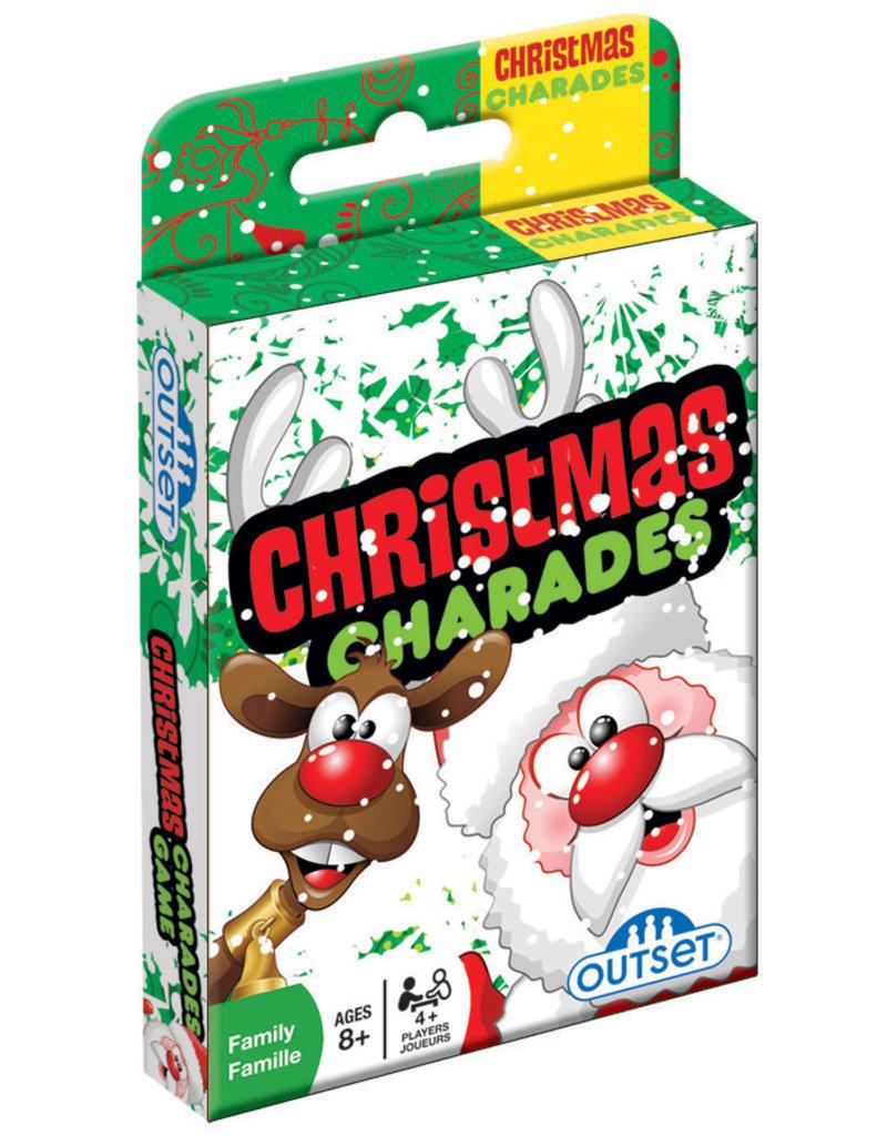 Christmas Charades Card Game