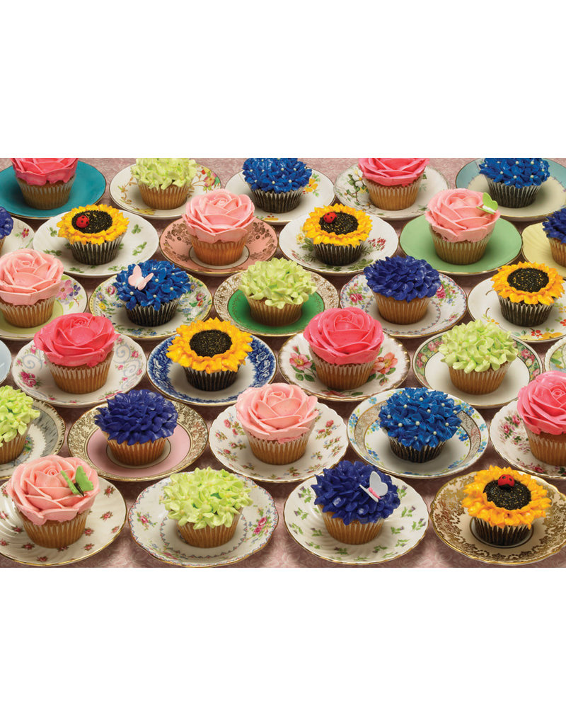 Cupcakes and Saucers Puzzle