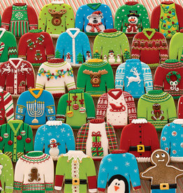 Outset Media Ugly Xmas Sweater Puzzle