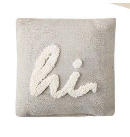 Mud Pie Mini Pillow Hi