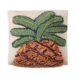 Mud Pie Mini Pillow Pineapple