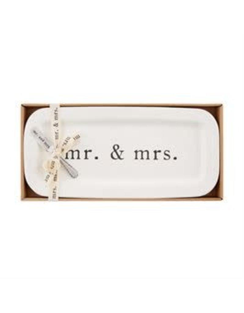 Mud Pie Mr. and Mrs. Hostess Set