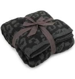 Barefoot Dreams Barefoot Dreams Cozychic BITW Adult Throw Graphite-Carbon