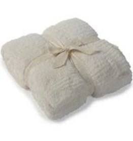 Barefoot Dreams Barefoot Dreams Cozychic Throw Cream