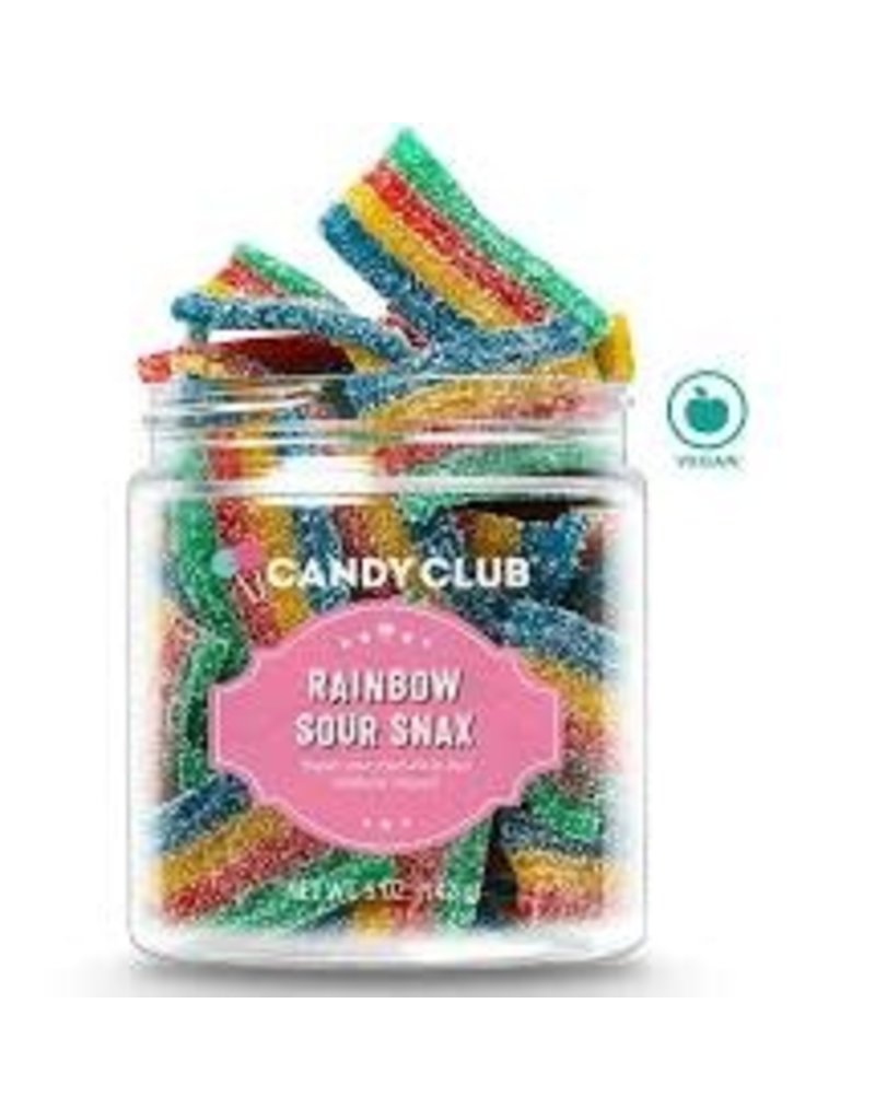 Candy Club Candy Club Rainbow Sour Belts