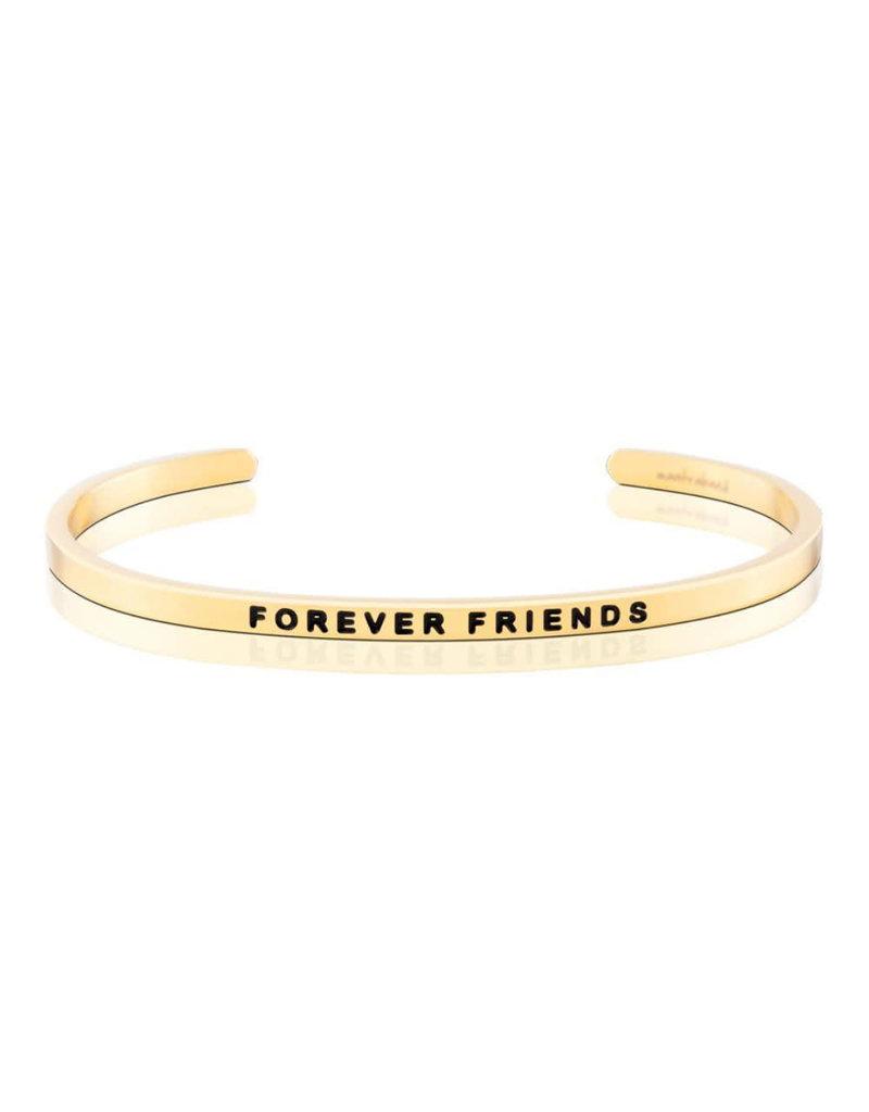 MantraBand Bracelet Forever Friends- Gold
