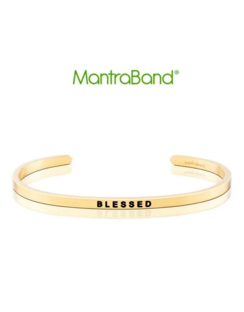 MantraBand Bracelet Blessed- Gold