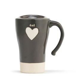 Travel Mug Heart Dad