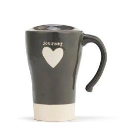 Demdaco Travel Mug Heart Journey