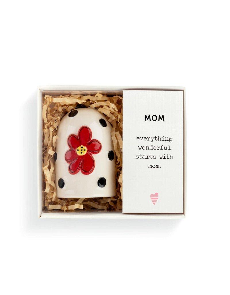 Demdaco Heartful Home Bell Mom