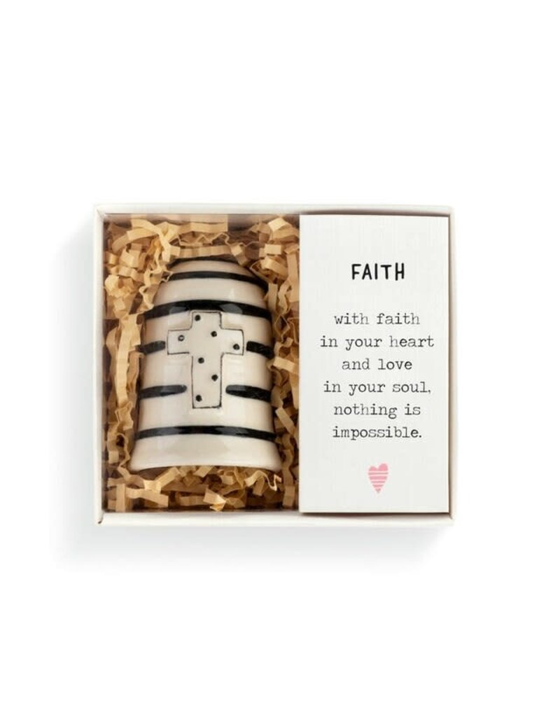 Demdaco Heartful Home Bell Faith