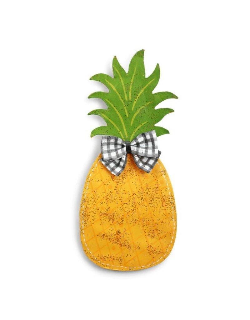 Door Screening Pineapple with Bow