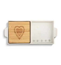 2 in 1 Serving Dish Heart