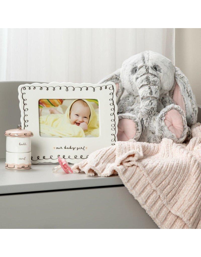 Demdaco Frame Pink Luxurious Baby