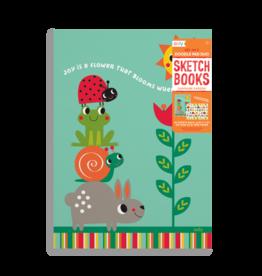 Ooly Doodle Pad Duo Sketchbook Sunshine Garden