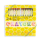 Ooly Brilliant Bee Crayons Set of 24