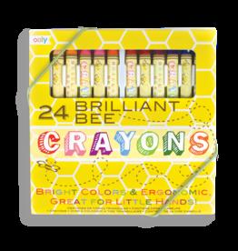 Brilliant Bee Crayons Set of 24