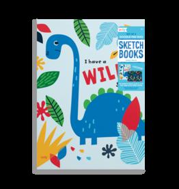 Ooly Doodle Pad Duo Sketchbook Dino Days