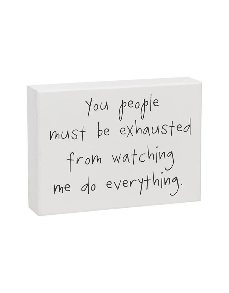 Box Sign You People