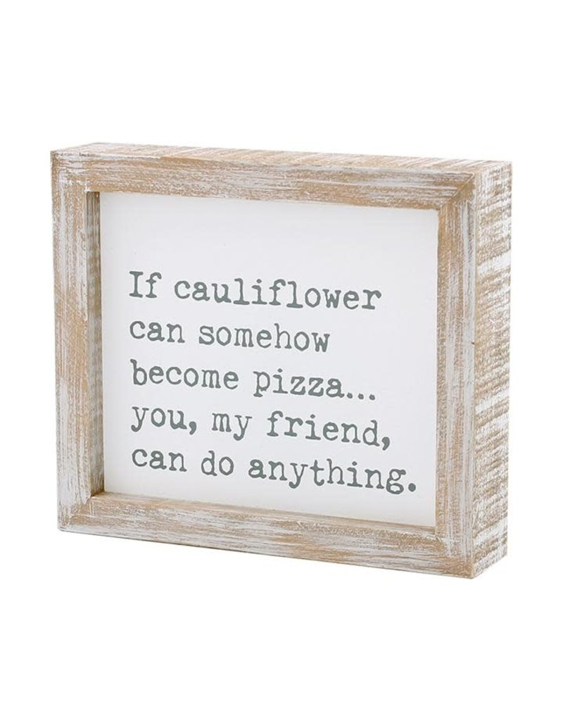 Framed Sign Cauliflower