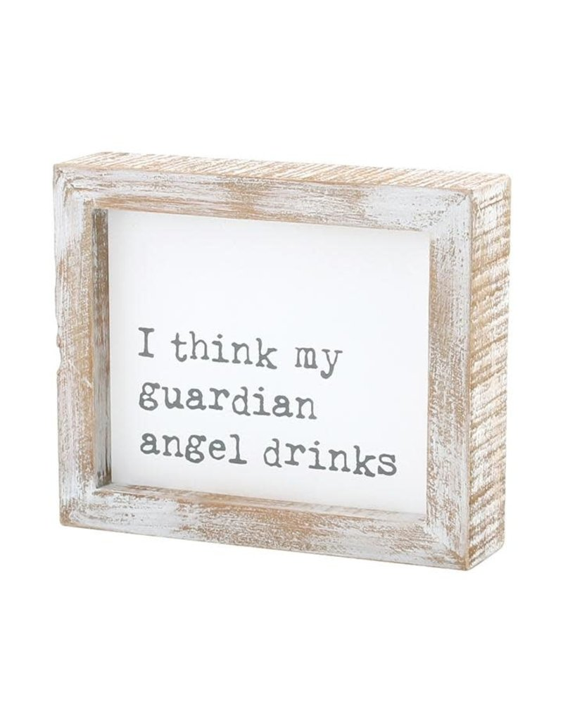 Framed Sign Guardian Angel