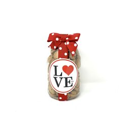 Oh Sugar Oh Sugar 10oz Cookie Jar Valentines Day LOVE