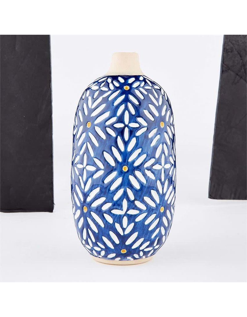 Indigo Bud Vase Medium