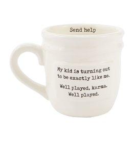 Mud Pie Parent Mug Send Help