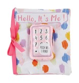 Mud Pie Hello Phone Book Girl