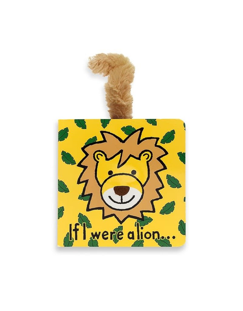 Jellycat Book- If I Were a Lion