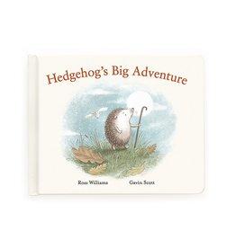 Jellycat Book- Hedgehog's Big Adventure