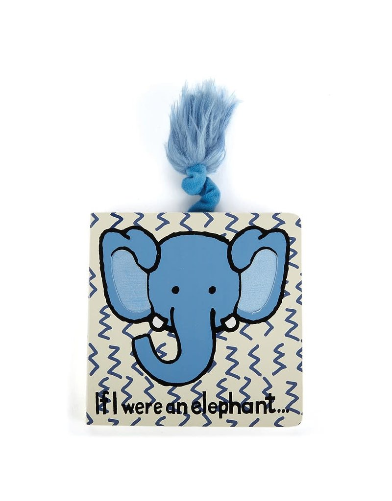 Jellycat Book- If I Were an Elephant