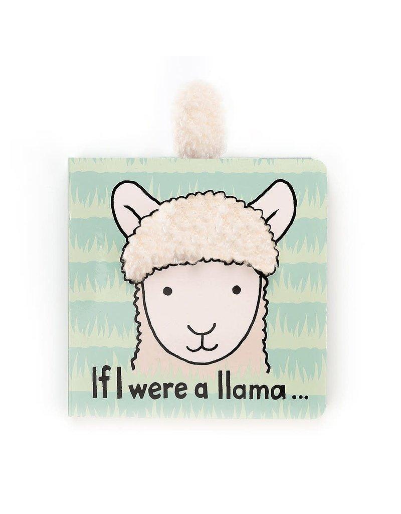 Jellycat Book- If I Were a Llama