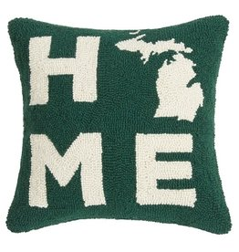 Peking Handicrafts Michigan Home Hook Pillow