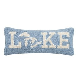 Peking Handicrafts Great Lakes Hook Pillow