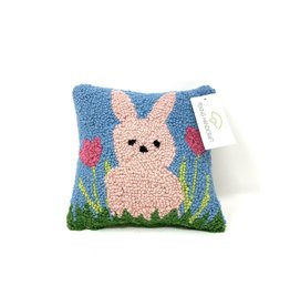 Peking Handicrafts Pink Bunny Hook Pillow