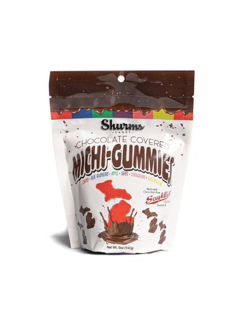 Michi-Gummies Chocolate