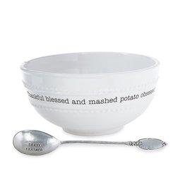 Mud Pie Circa Mashed Potato Bowl Set